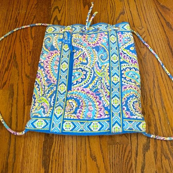 Vintage Vera Bradley Drawstring Backpack